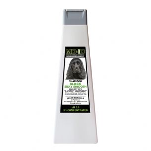 NEW Black Silky Smooth Shampoo - 750ml (3 Litre Diluted) Cocker Spaniel, Flat Coated Retriever, Rottweiler